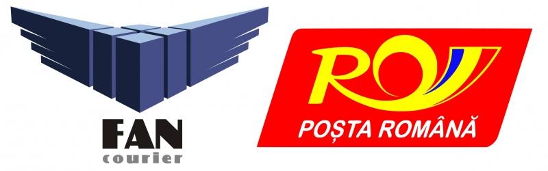 livram prin Fan Courier si Posta Romana